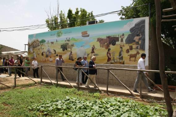 Visita Delegado de asuntos sociales a Poblado Tartésico