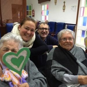 La Residencia de Mayores Cristo Roto celebra el día del Amor