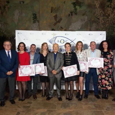 La Asociación de Obras Cristianas de Gibraleón distingue a seis miembros de su plantilla como 'Trabajadores Ejemplares 2017'