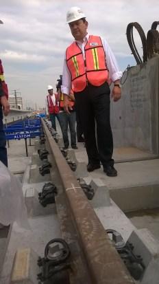 Supervisión del montaje en viaducto elevado