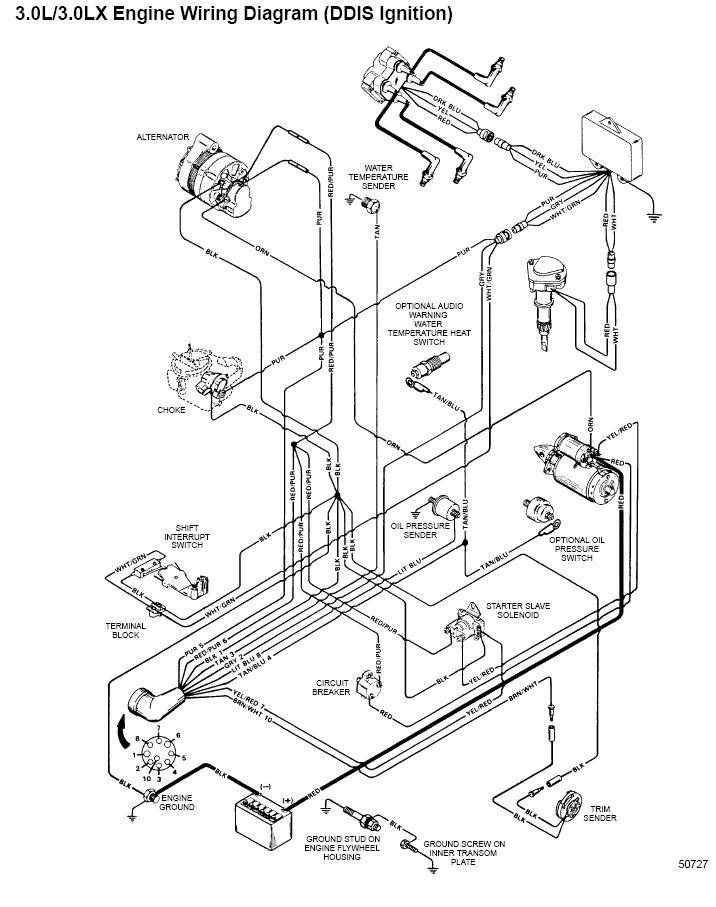 Mercruiser trim wiring diagram