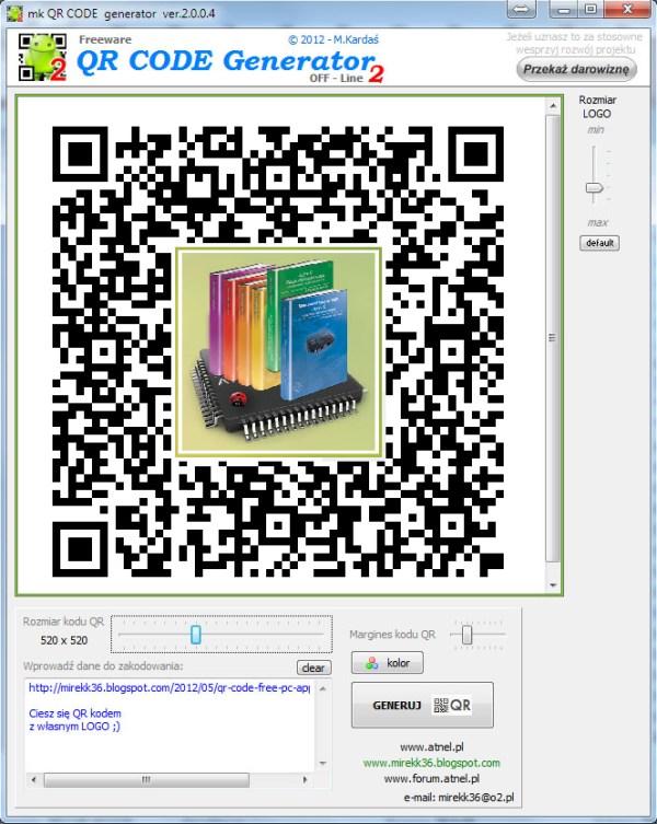 Soorten auto's: Qr code generator z logo