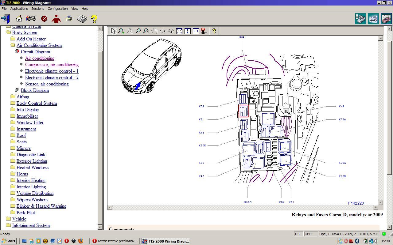 Corsa D Relay Diagram Box Wiring
