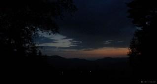 Jizerské hory - západ slunce