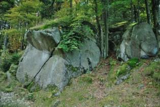 Jizerské hory - Francouzské kameny