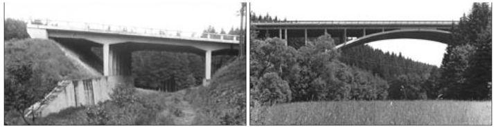 Zatopené mosty u D1 po svém dokončení