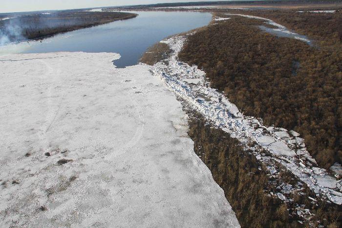 Terrain de glace à Tomsk