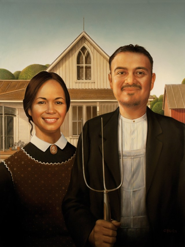 Mexican American Gothic Tim OBrien Illustration