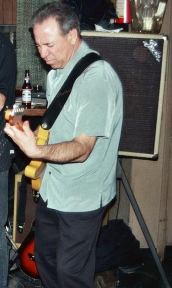 """Tony Sena Guitarist for Shane O'Brien and O'Briens Edge"""