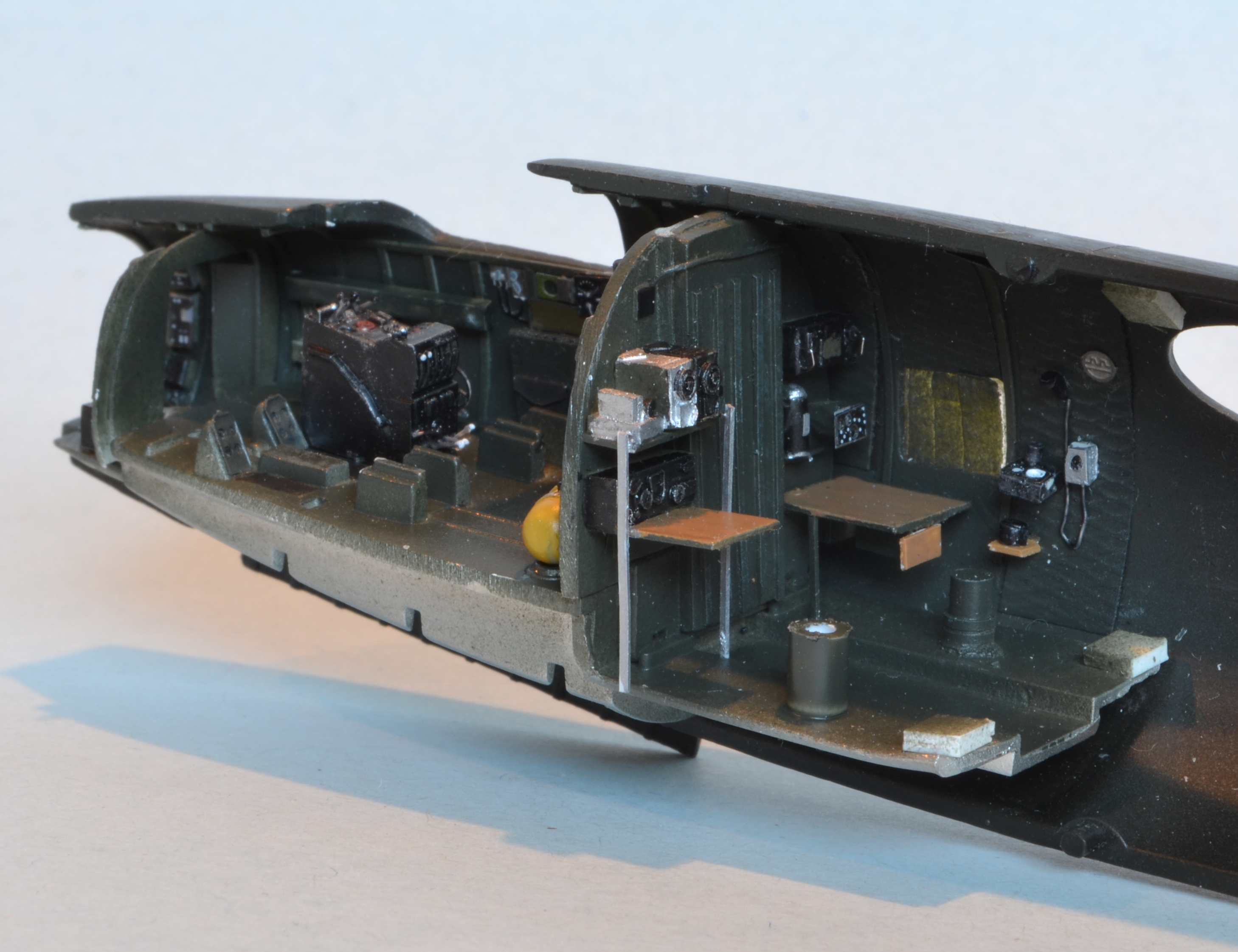 B 26 Progress Cockpit Painted And Detailed See It While