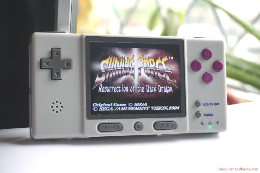 The Digi RetroBoy GBA Clone