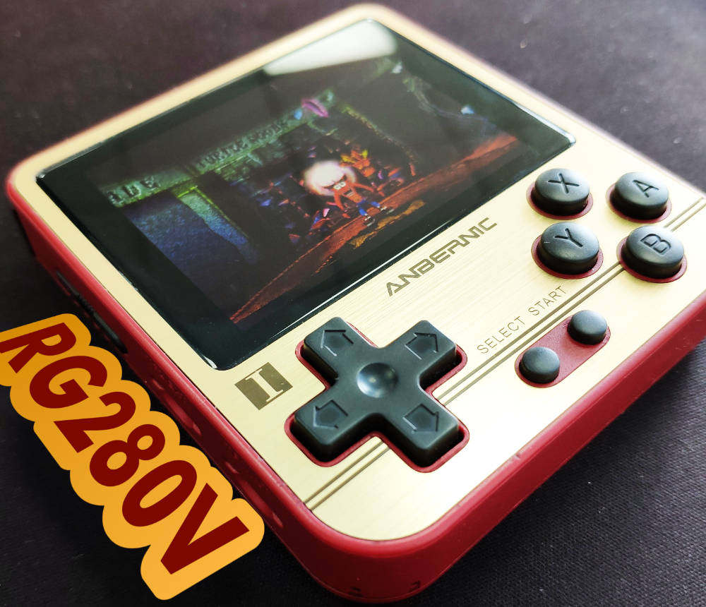 RG280V Retro Handheld Gaming Console
