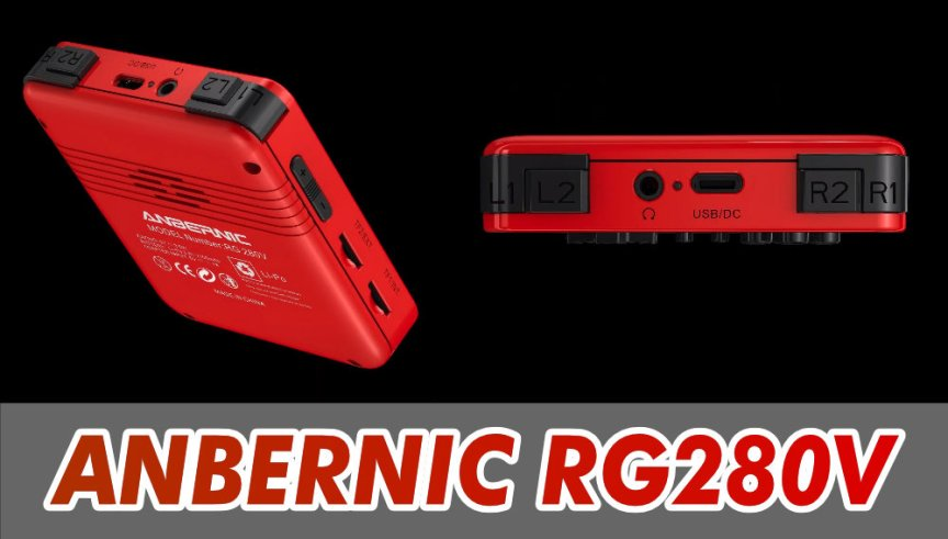 Anbernic RG-280V Retro Gaming Handheld