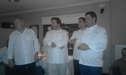 as garzas cocineros