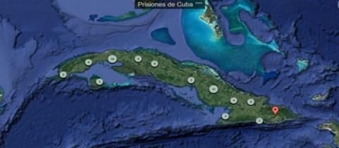 Mapa de las Prisiones de Cuba visibiliza el panorama represivo de uno de  los peores sistemas carcelarios del mundo - Observa Cuba