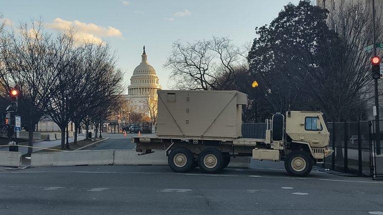 Así luce Washington a menos de 48 horas de la toma de posesión de Joe Biden (+Fotos) 2
