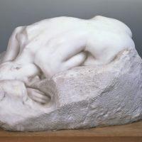 •La Dánae de Rodin.
