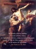 Cita de San Francisco - Abrazando al Crucificado de Murillo