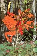 Ivan Bilibin - caballero rojo