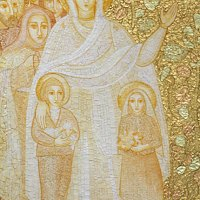 •Los mosaicos del padre Rupnik.
