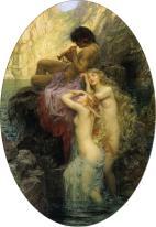 Sea melodies (complete) 1904 - by Herbert James Draper