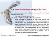 Las enseñanzas de Fray León nº25