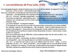 Las enseñanzas de Fray León nº26