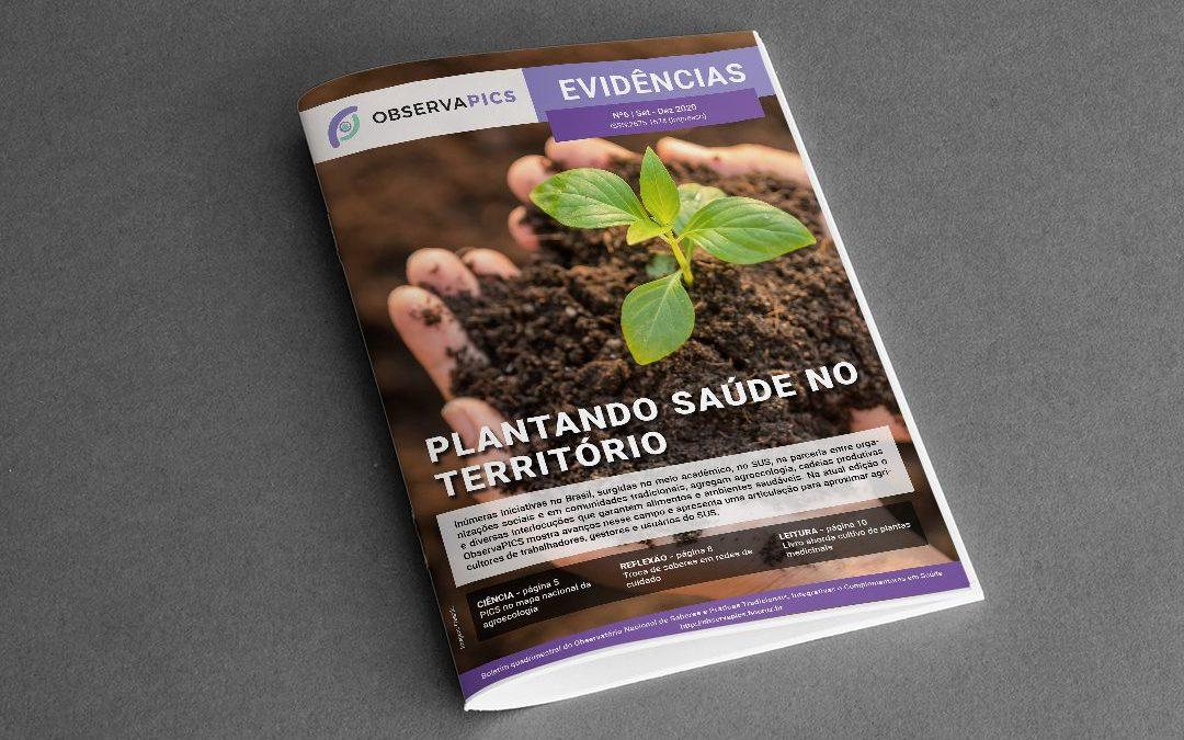 Parceria entre PICS e agroecologia é tema do 6º Boletim Evidências
