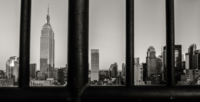 Balcony with a view - Empire State Building