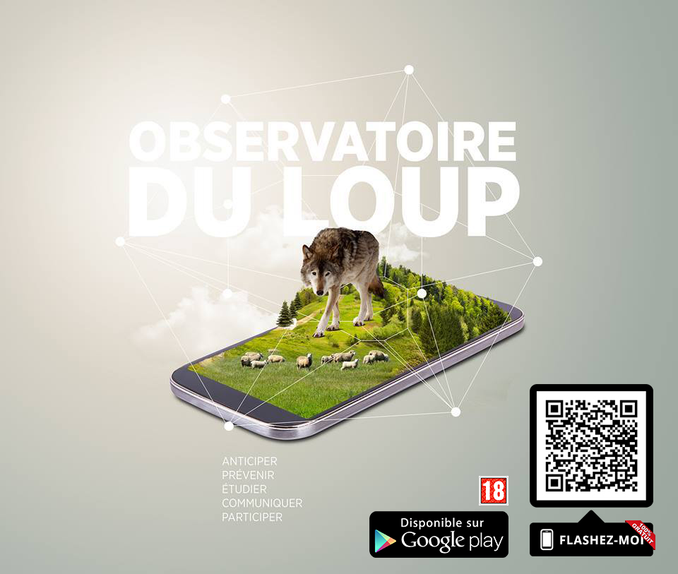 Application mobile ObservatoireDuLoup