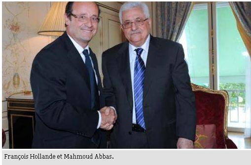 Abbas a  Elysee 8 juin 2012