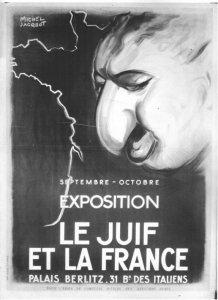 Le Juif et la France 1941 Michel Jacquot