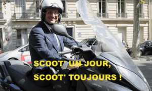 Fh en scooter