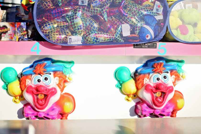 various toys in creative vending machine