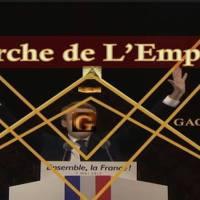 Le couronnement de Macron 1er Empereur des Français.