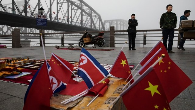 China's Border With North Korea