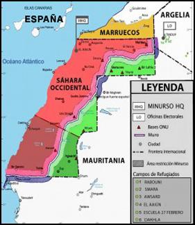 Resultado de imagen para sahara occidental