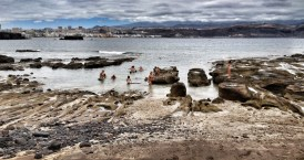 La playa en bajamar / LUIS ROCA ARENCIBIA