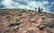 La montaña Colorada mide 239 metros y es un fantástico cofre que esconde otros tesoro de muchos quilates. / LUIS ROCA ARENCIBIA