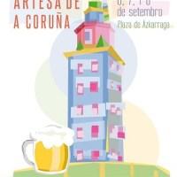 Festa da Cervexa Artesá Galega de A Coruña, Ourense y Santiago