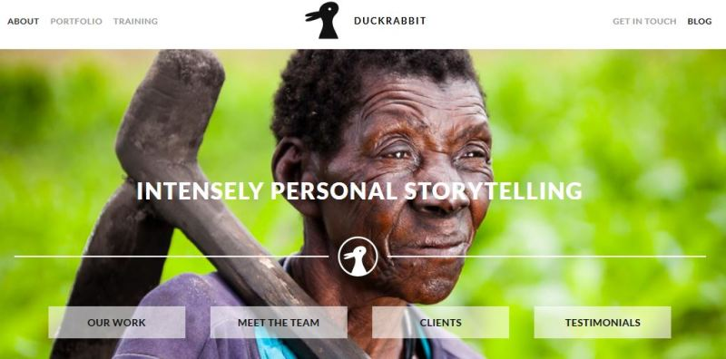 Sitio web de Duckrabbit