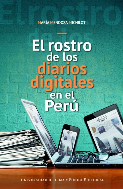 Cubierta de la obra sobre Diarios Digitales en el Perú