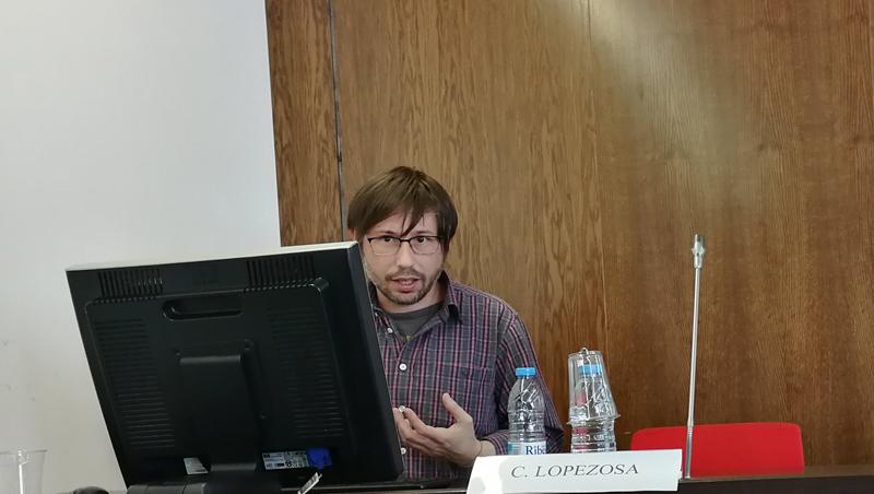 Carlos Lopezosa, codirector del SEO MediaLab y doctorando en Comunicación de la UPF