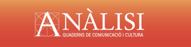 Anàlisi: Quaderns de comunicació i cultura