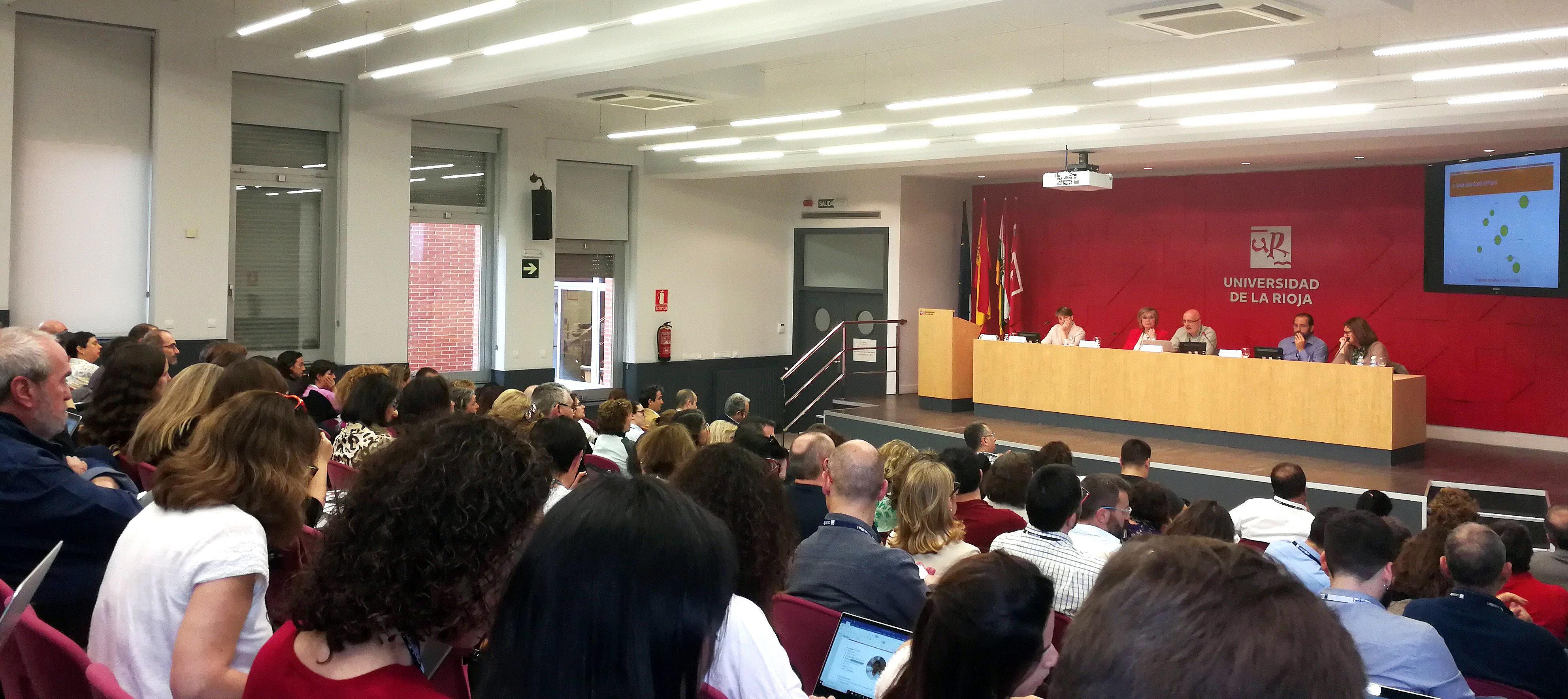 Conferencia CRECS Logroño