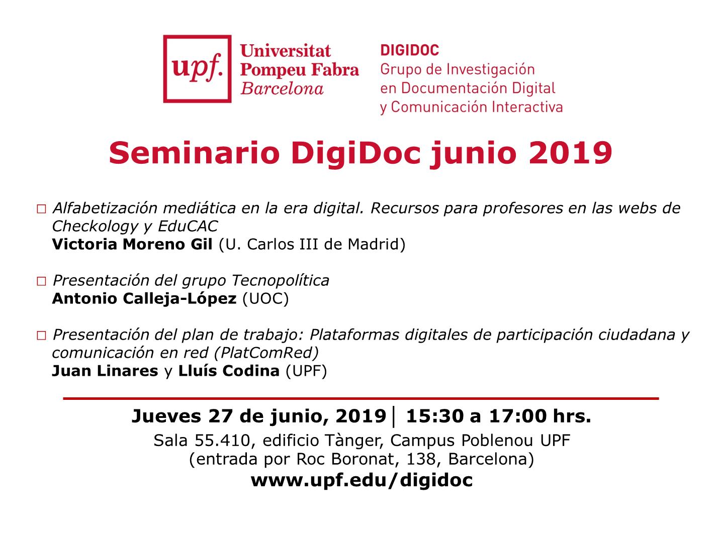 Seminario DigiDoc junio 2019