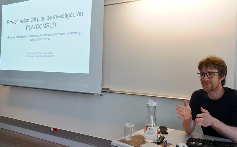 Juan Linares en seminario DigiDoc