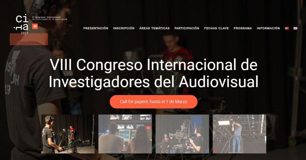 VIII Congreso Internacional de Investigadores del Audiovisual