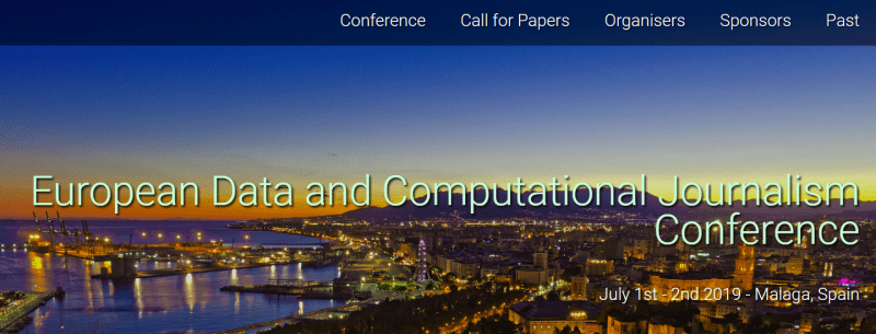 Data and Computational Journalism Conference