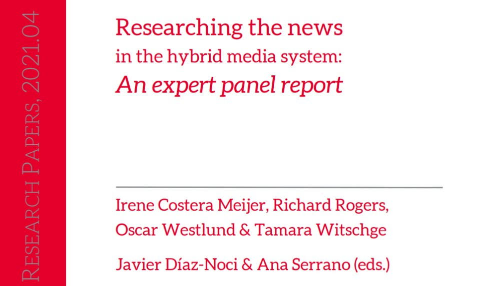 Researching the news in the hybrid media system: an expert panel report